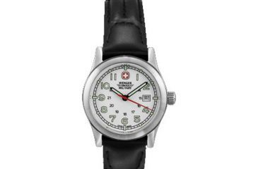 Wenger Swiss Military Ladies' Field White Dial and Black Strap