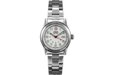 Wenger Swiss Military Ladies' Field White Dial and Bracelet