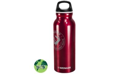 Wenger Travel Top 650ml Drinking Bottle, Swiss Army Red 18001