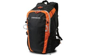 Wenger Verbier 17in Backpack, Black/orange 12656