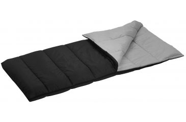 Wenzel Camper 40 Degree Sleeping Bag Black Gray 33in X 75in 74926917