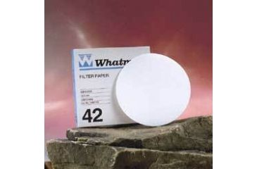 Whatman Grade No. 42 Quantitative Filter Paper, Ashless, Whatman 1442-125