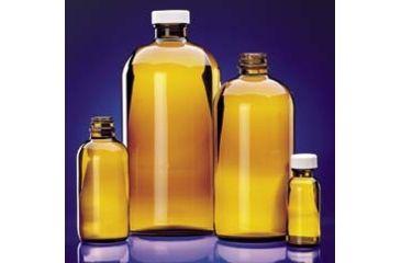 Wheaton Bottle Round Amber 32OZ CS30 W216870