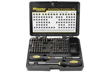 Wheeler 89-piece Deluxe Gunsmithing Screwdriver Kit 562194