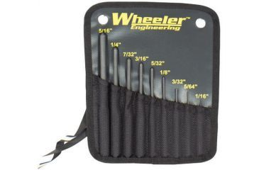 Wheeler Fine Gunsmith Equipment Roll Pin Punch Set 204513