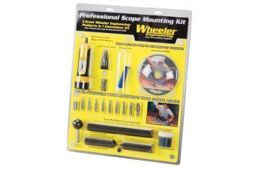 Wheeler Professional Scope 1in Mounting Kit 540127