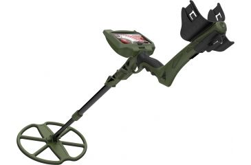 Wildgame Innovations MX400 GPS Hi Performance Digital Metal Detector w/ 14 in DD Submersible Coil, GREEN, NA MX400