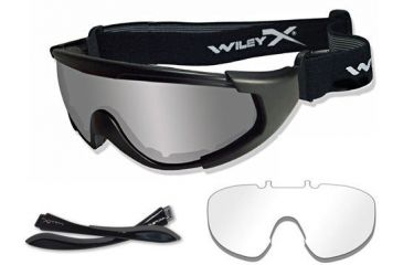 29920855b6 Wiley X CQC Tactical Goggles - Smoke and Clear Lenses