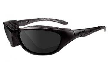 Wiley X Black Ops Tactical Bifocal Air Rage Sunglasses, Matte Black