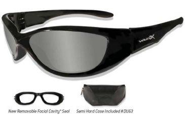 b4e62d5b41 Wiley X Ink Climate Control Sunglasses  Goggles 747 746