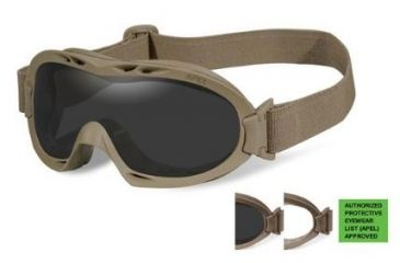 1f98e206ad Wiley X Nerve Tactical Ballistic Goggles w  Interchangeable Lenses ...
