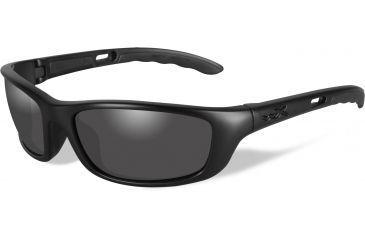 a1282254b7 Wiley-X P-17 Black OPS Tactical Sunglasses - Smoke Grey Lens   Matte