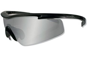 7b94b1b8d6 Wiley-X PT-3 Interchangeable Lens Sunglasses w  Matte Black Frame   Case