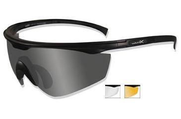 6d90a4f8b17 Wiley X PT-1 Viper Cut Sunglasses With Interchangeable Lens SCLRX ...