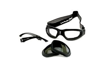 3-Wiley X Rx Prescription Lenses Wiley X SG-1 Sunglasses / Goggles w/ RX Lenses