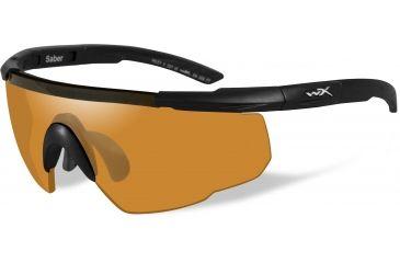 b186643e6f Wiley-X Saber Advanced Sunglasses - Matte Black Frame w  2 Lens Package (