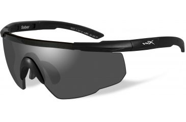 8df91158f62 Wiley-X Saber Advanced Sunglasses - Matte Black Frame w  2 Lens Package (