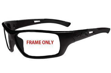 daf2aeb9b64 Wiley X Slay Sunglasses FRAME ONLY - Black Frame w Accessories ACSLA04F