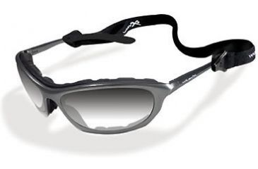 Wiley-X XL-4 Filter 3 Crystal Gradient Mirror / Brushed Gun Metal Sunglasses / Goggles