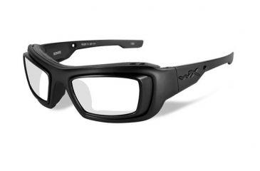 2a9133ccbd8 Wiley X WX Knife Black OPS Sunglasses - Smoke Grey Lens   Matte Black Frame  w