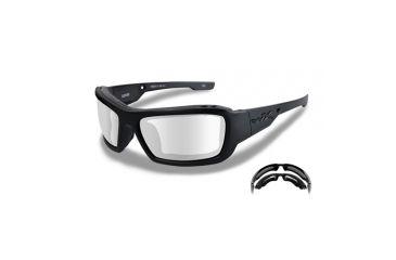 a6d65270d9b Wiley X WX Knife Sunglasses - Clear Lens   Gloss Black Frame