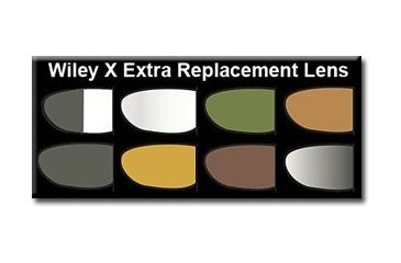 Wiley X Zak Sunglasses Extra Replacement Lenses