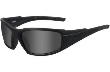 Wiley X WX Rush ACRUS RX Single Vision Sunglasses - Matte Black Frame ACRUS01RX