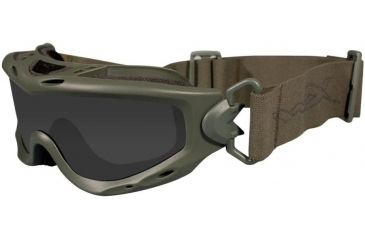 Wiley X Spear - Foliage Green Frame - Close-up
