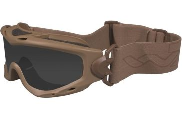 Wiley X Spear Goggles Tan Frame - Close-up