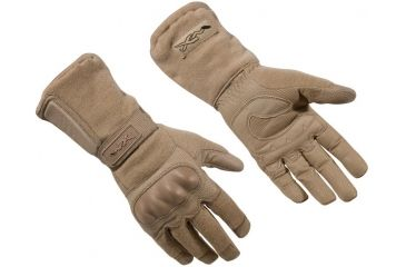 Wiley X TAG-1 Tactical Assault Gloves - USA Made - Coyote