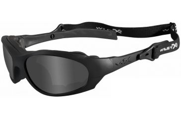 Wiley X Xl-1 Sunglasses - Matte Black Frame - Close-up 292