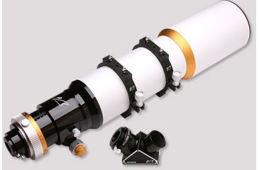 William Optics Fluoro Star-APO 132mm Telescope w/ Pair of Mounting Rings, QUARTZ Dielectric Diagonal, and Custom Aluminum Case FLT132-P
