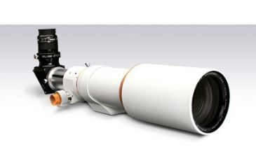 """William Optics Megrez 90 APO Fluorite Doublet Refractor Telescope Package w/ 2"""" CF Dielectric Diagonal, SLV 90 OD Mounting Rings, and Case M90FD-W-P"""