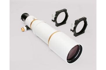 William Optics Megrez 110 ED APO f/5.59 Doublet Refractor Telescope Optical Tube Assembly + Rings, with Custom Aluminum Carrying Case M110ED-W-P