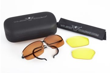 1-Wilson Combat Decot Revel Shooting Glasses with Case