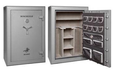 Winchester Safes Big Daddy 36 Gun Safe,Electronic Lock,Black BD60423607E