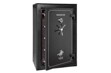 Winchester Safes Silverado 38 Gun Safe,Mechanical Lock,Black S6040387M