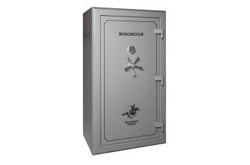 Winchester Safes Silverado 49 Gun Safe,Mechanical Lock,Granite S72424911M