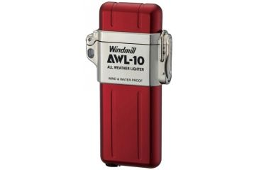 Windmill AWL All Weather Lighter, Red WM307-1001