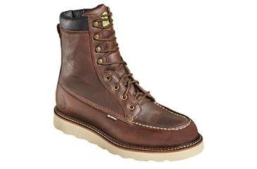 557b1109f8b Wood N Stream Mens 6007 Flyway 8in Moc Crème Wedge Saffron Leather ...