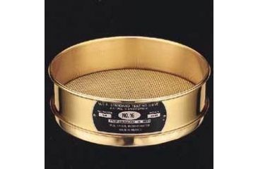 WS Tyler Sieves, Brass Wire and Frame, Tyler 4531 Full Height