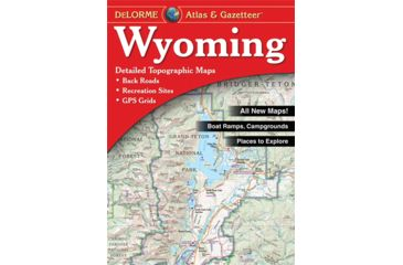 Wyoming Atlas, Publisher - Delorme
