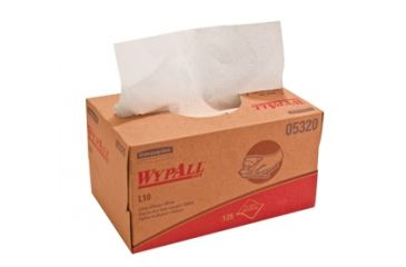 Wypall L10 SANI-PREP Dairy Towels, White, 9.3in.x10.5in. 1770