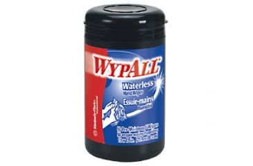 Wypall Waterless Cleaning Wipes, Green, 10in.x12in. 58310