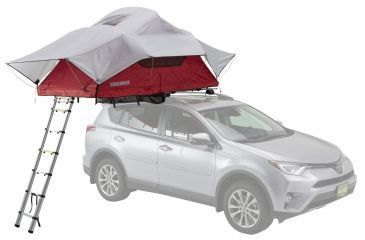 Yakima SkyRise Car Top Tent - 2 Person 3 Season-Red  sc 1 st  Optics Planet & Yakima SkyRise Car Top Tent - 2 Person 3 Season-Red | Free ...