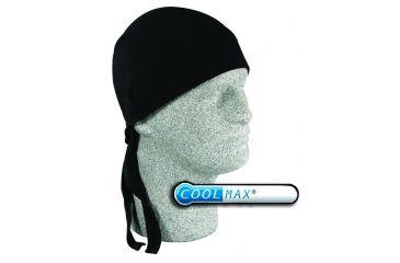 Zan Headgear Flydanna Black Coolmax ZCM001