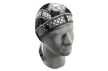 Zan Headgear Flydanna Celtic Skull Z628