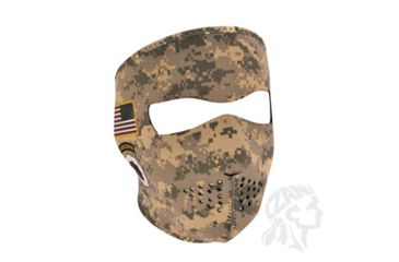 Zan Headgear Full Mask, Neoprene, U.S. Army, Combat Uniform WNFM700
