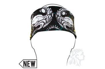 Zan Headgear Headband, Polyester, Snake HB005