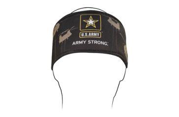 Zan Headgear Headband, Polyester, U.S. Army, Helicopter HB700